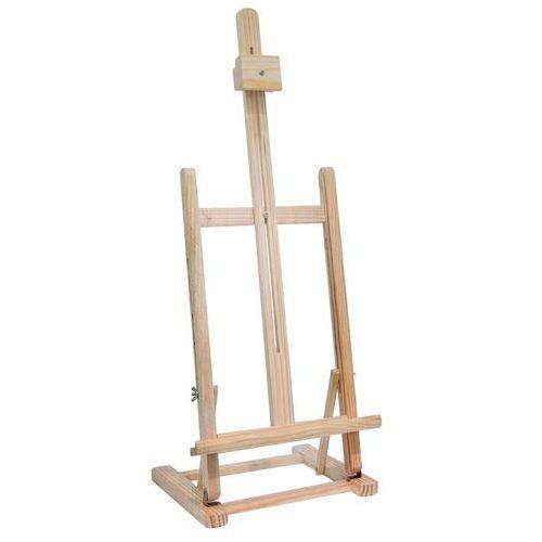 Home styling collection Profesjonalna regulowana sztaluga, drewniana sztaluga stołowa - max 56 cm (8719202820775)