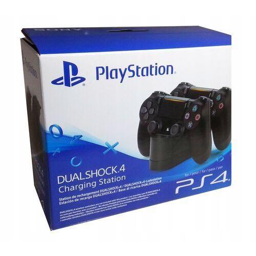 Stacja ładująca docking station ps4 do dualshock 4 (cuh-zdc1) // wysyłka 24h // dostawa także w weekend! // tel. 696 299 850 marki Sony