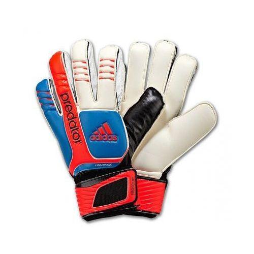 Nowe rękawice bramkarskie predator fingersave rozmiar 8,5 marki Adidas