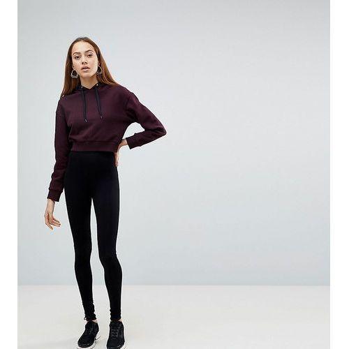 ASOS DESIGN Tall high waisted leggings in black - Black