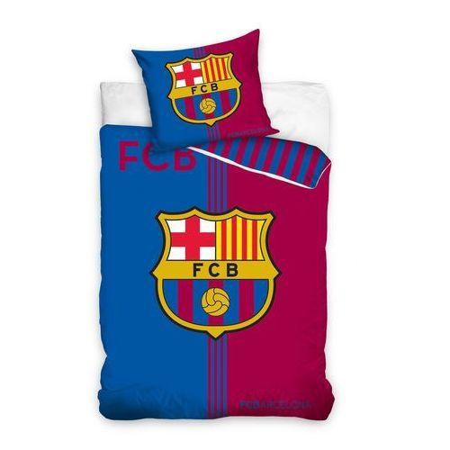 Dekoria Komplet pościeli FC Barcelona, poszwa 160x200cm, 1 poszewka 70x80cm