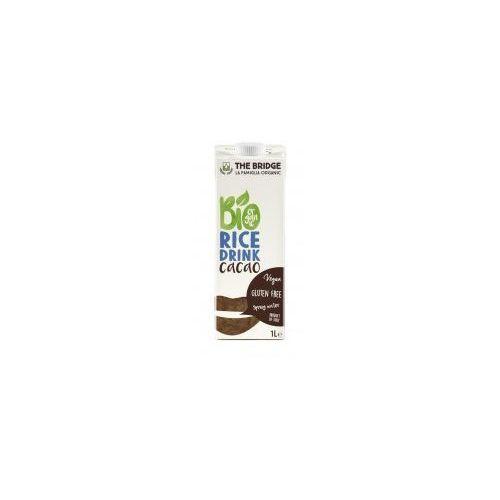 Napój, mleko ryżowo-czekoladowe bezglutenowe bio 1 litr marki The bridge