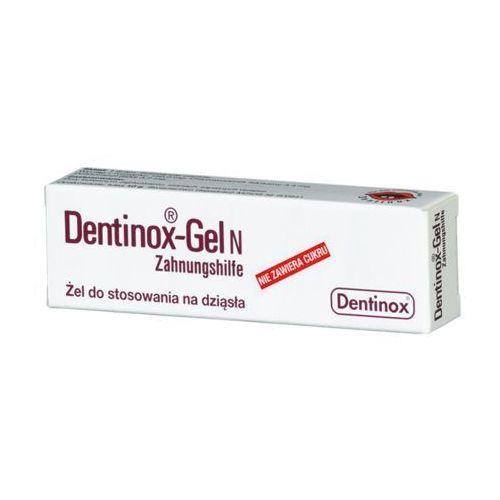 Dentinox N, postać leku: żel