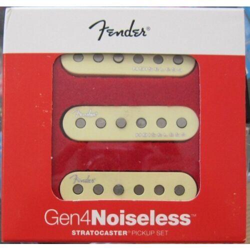 Fender Gen4 Noiseless Strat Set przetworniki