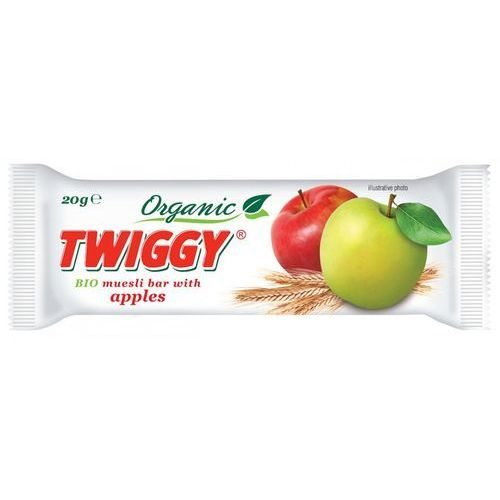 Twiggy (batony owocowe) Baton musli z jabłkiem bio 20 g - twiggy (8594002672171)