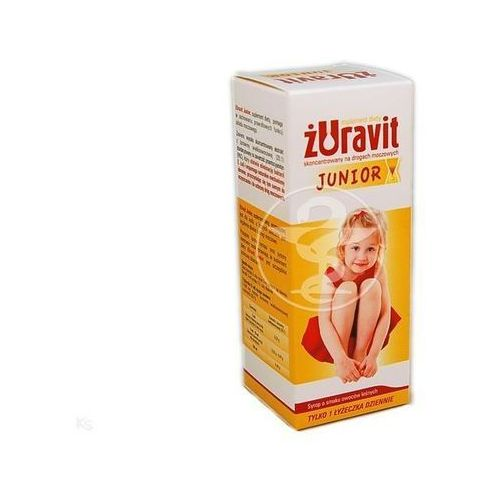 Żuravit junior + syrop 100ml marki Herbapol lublin
