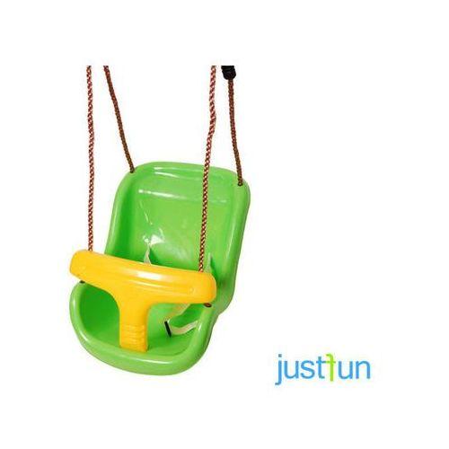 Huśtawka kubełkowa - zielono-żółty - produkt z kategorii- Huśtawki ogrodowe