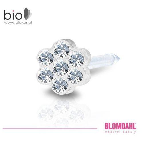 Blomdahl Kolczyk do przekłuwania uszu - daisy crystal 5 mm