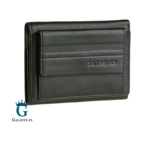 827b44ba79a84 Mały portfel męski Samsonite z zewnętrzną kieszenią na bilon 15A-248 RFID  169,00 zł Portfel to jeden z dodatków.