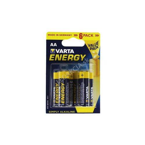 Varta Energy baterie AA 6x + Bezpłatna natychmiastowa gwarancja wymiany!, 194606