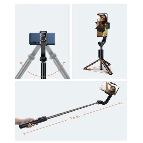 lovely uniaxial   selfie stick stabilizator statyw tripod gimbal 1oś + pilot bluetooth marki Baseus