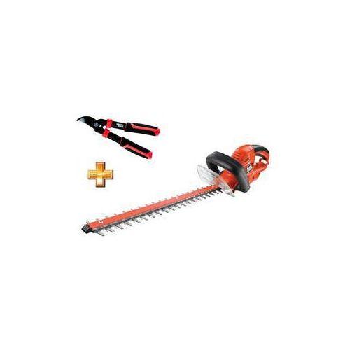 Nożyce do żywopłotu Black-Decker GT5055, elektr. + nożyczki do trawy - oferta (05b1e9013192b4b8)