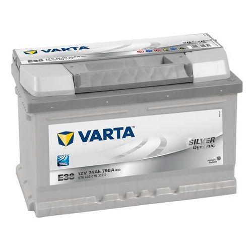 Akumulator VARTA E38 Silver Dynamic 74Ah 750A L-