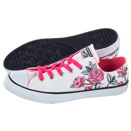 Trampki Converse CT All Star OX White/Racer Pink 663624C (CO370-a)