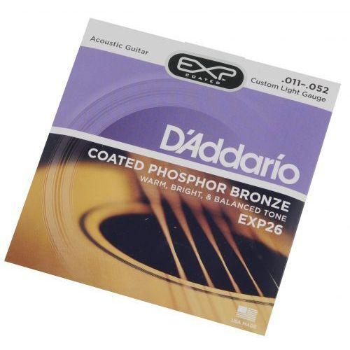 D′Addario EXP 26 struny do gitary akustycznej 11-52, 870D-80841