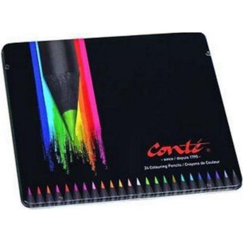 Kredki conte metal 24 kolory marki Bic