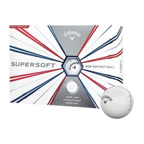 Piłki golfowe CALLAWAY SUPERSOFT (białe)