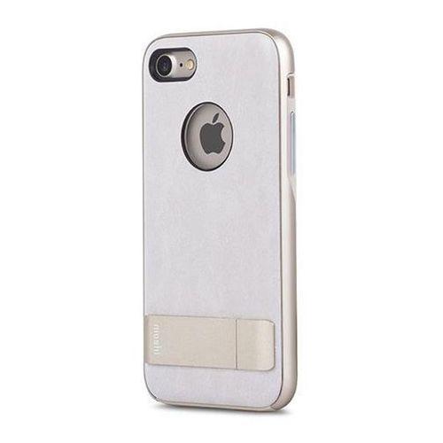 Moshi iGlaze Kameleon - Etui hardshell z podstawką iPhone 7 (Ivory White) Odbiór osobisty w ponad 40 miastach lub kurier 24h (4713057250347)