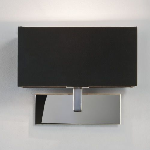 Park Lane wall, polished chrome+black shade (5038856005165)