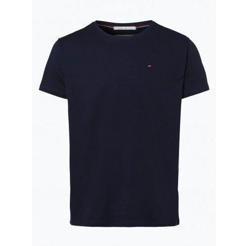 Koszulka Tommy Jeans T-shirt Męski Granatowy, B1DB-679C9