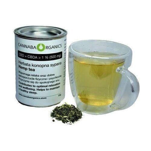 Herbata konopna z kwiatostanów konopi (50 gram) (5902198162032)