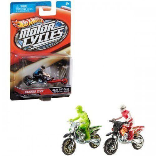 Hot Wheels HOT WHEELS Motocykl + mo tocyklista, kup u jednego z partnerów