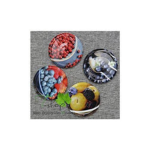 Biowin Zakrętka do słoików fi 82 owoce (2) 10 szt. (klik) (5908277704407)
