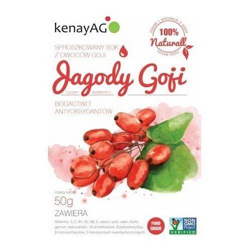 Kenay ag Goji sproszkowany sok 50g (5900672151343)