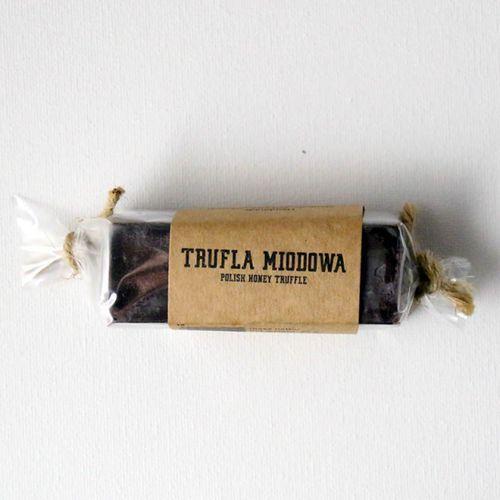 Gospodarstwo pasieczne łysoń Baton miodowy trufla z belgijskiej czekolady 80 g 80 g