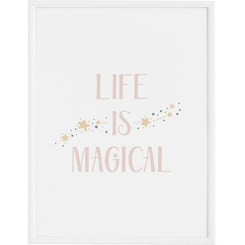 Follygraph Plakat life is magical 21 x 30 cm