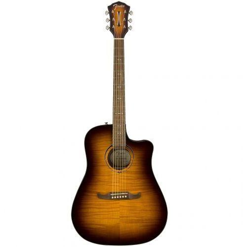 Fender fa-325ce fsr dreadnought mocha burst gitara elektroakustyczna