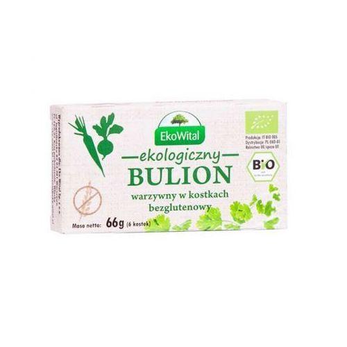 Eko wital Bulion warzywny w kostkach bezglutenowy bio 66 g