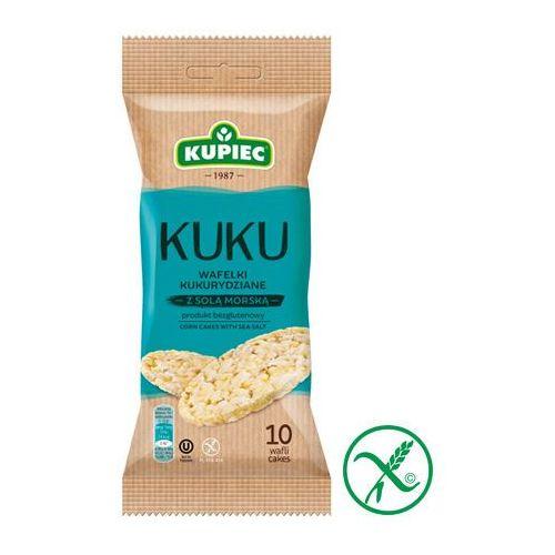 Kupiec Wafle kukurydziane z solą morską 36 g