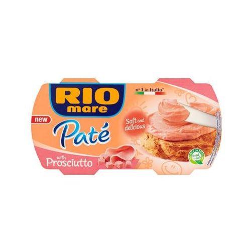 2x84g pasztet z szynki włoskiej marki Rio mare