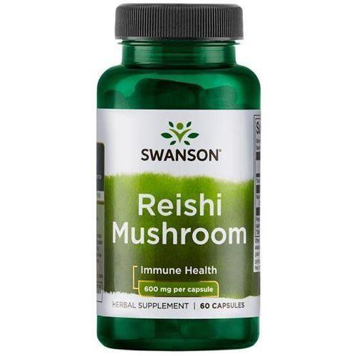 Kapsułki SWANSON Reishi Mushroom 60 kaps./600mg
