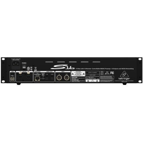 Behringer S16 stagebox cyfrowy (B-STOCK)