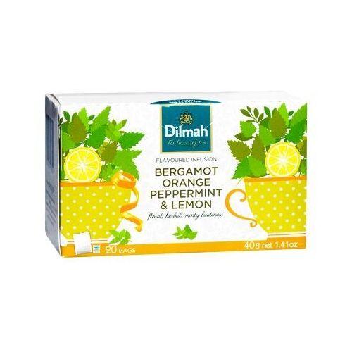 Dilmah Bergamot Orange Peppermint & Lemon 20 torebek, 4009