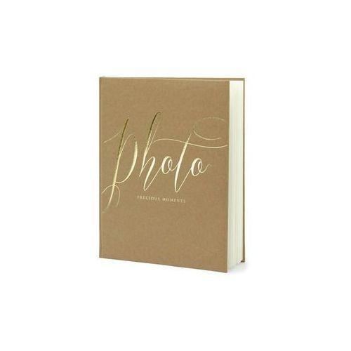 """Album na zdjęcia """"Precious Moments"""", PartyDeco, 20 x 24,5 cm, kraft, 22 kartki"""
