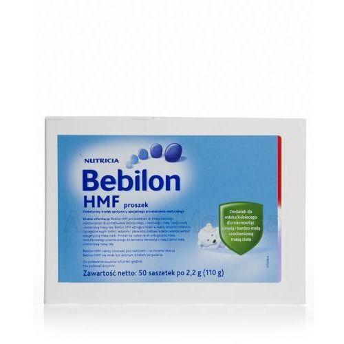 BEBILON HMF Dodatek do mleka kobiecego dla niemowląt z małą i bardzo małą urodzeniową masą ciała - 50 sasz. (mleko dla dzieci)