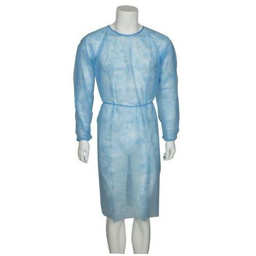 Fartuch dla odwiedzających, niebieski (XL, 5szt.) (odzież medyczna)