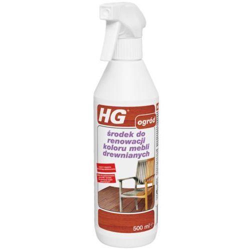 środek do renowacji koloru mebli drewnianych marki Hg