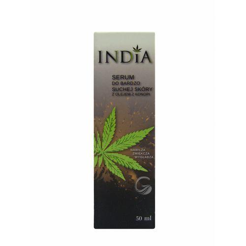 serum do twarzy i ciała z olejem konopnym, 50 ml marki India cosmetics