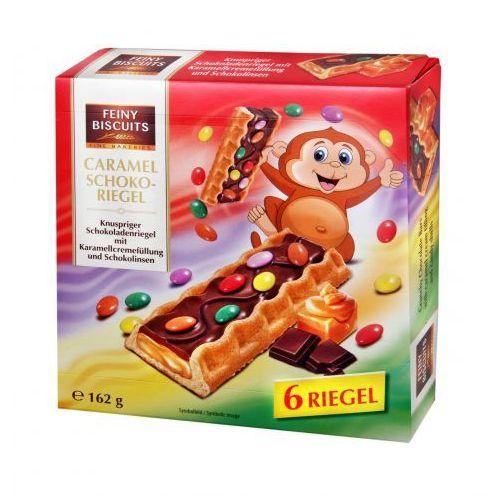 Feiny Biscuits Batoniki czekoladowe z drażetkami 162 g, 9002859094996