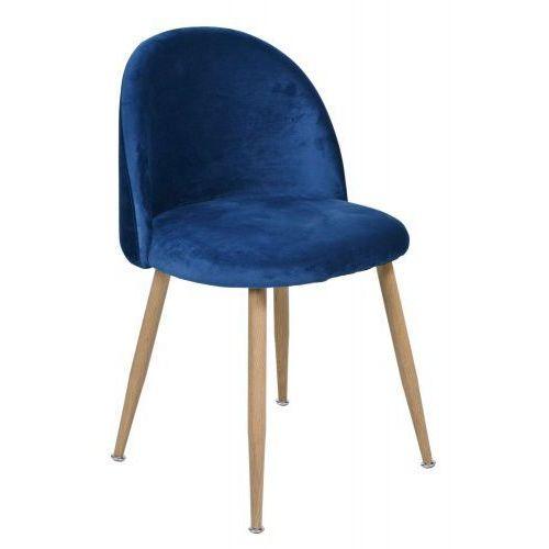 Krzesło moon granatowe marki Krzeslaihokery