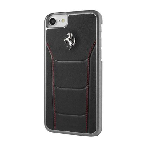 Ferrari Etui FERRARI hard do iPhone 7 FESEHCP7BKR czarno-czerwone - ORG002699 Darmowy odbiór w 20 miastach! (3700740388211)