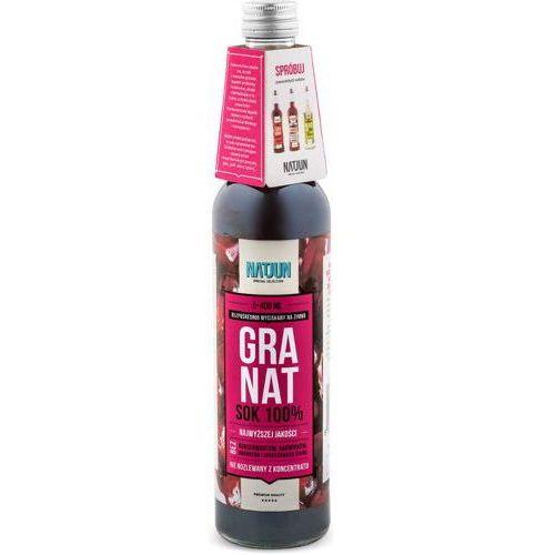 NATJUN 100% sok z granatu 400ml