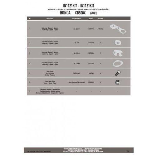 poszerzenie kierunkowskazów honda cb 500x`13 marki Givi