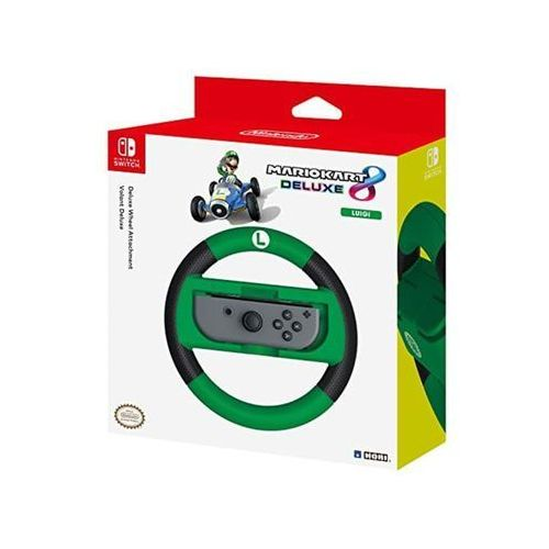 Hori switch mario kart 8 deluxe wheel (luigi version) - akcesoria do konsoli do gier - nintendo switch (0873124006537)