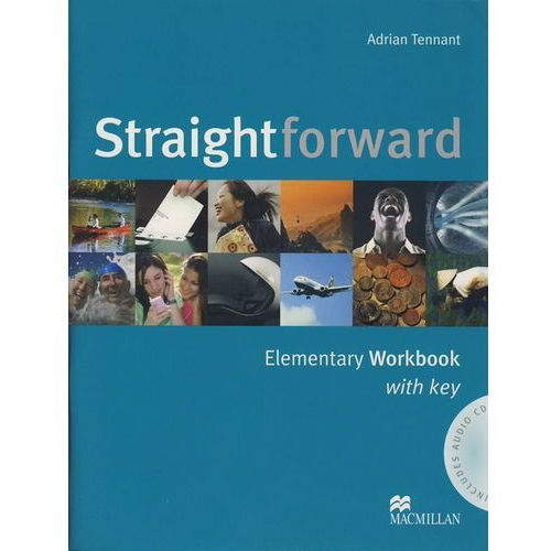 Straightforward elementary Workbook with key + Cd