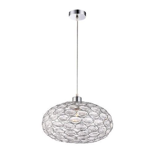Globo 16036 - lampa wisząca megi 1xe27/60w srebrna (9007371234677)